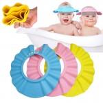 Ayarlanabilir Bebek Banyo Şapkası Mavi