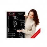 Ayasofya Kadife Duvar Sticker 82X133 Cm