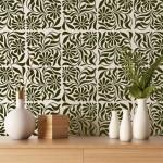 Ayçiçeği Karo Stencil Tasarımı 30 x 30 cm