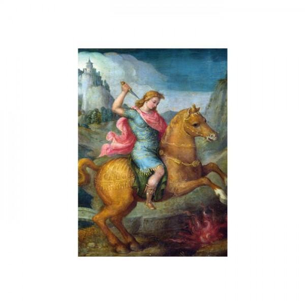 Bacchiacca - Marcus Curtius 50x70 cm