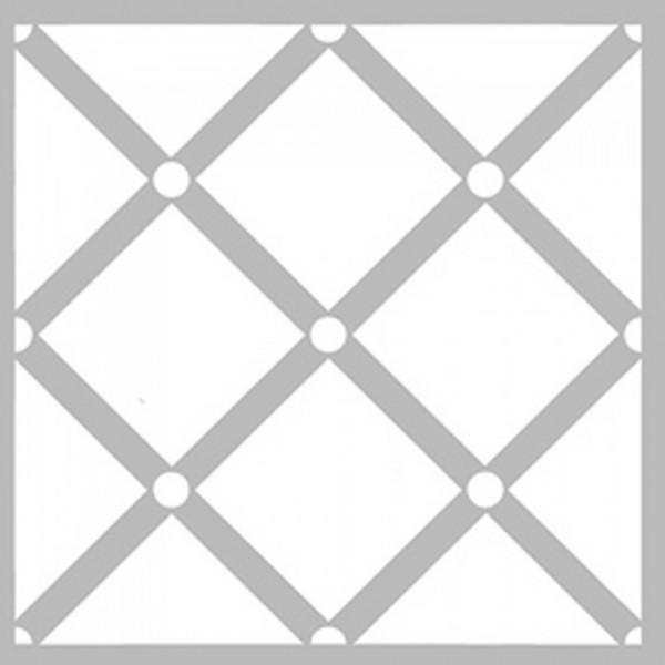 Baklava Büyük Desen Stencil Tasarımı 30 x 30 cm