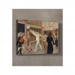 Balthus - The Street 50x70 cm