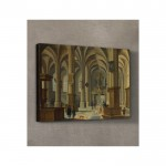 Bartholomeus Van Bassen - Interior of the Cunerakerk, Rhenen 50x70 cm