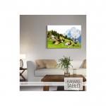 Beautiful World Kanvas Tablo 60X90 Cm