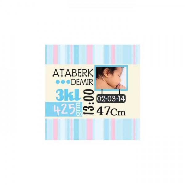 Bebek Özel-3 Kanvas Tablo 40X40 Cm