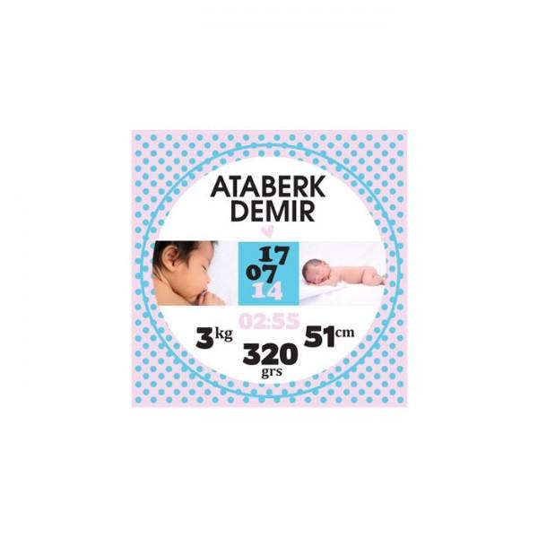 Bebek Özel-5 Kanvas Tablo 40X40 Cm