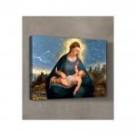 Bernardino Da Asola - The Madonna And Child 50x70 cm