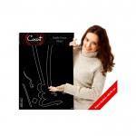 Besmele(Arapça) Kadife Duvar Sticker 63X244 Cm