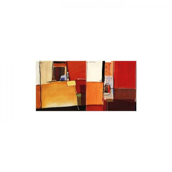 Best Colors 2 Parça Kanvas Tablo 80X40 Cm