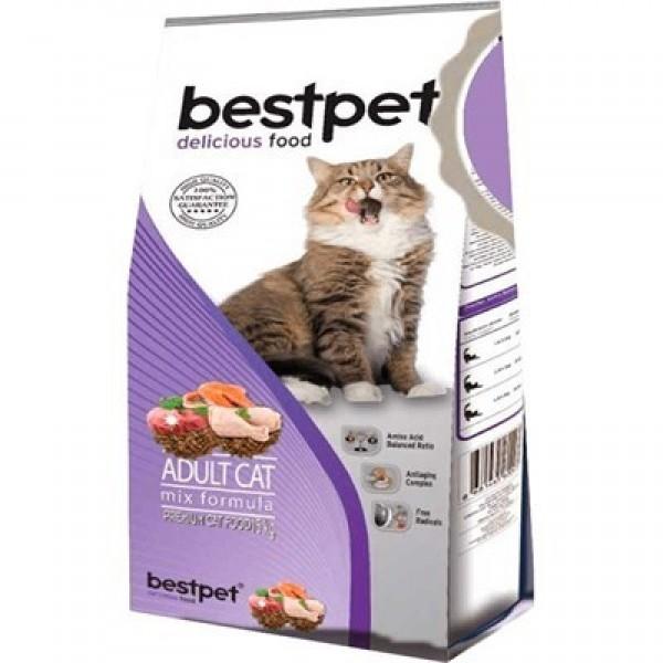 Bestpet Mix Karışık Etli Yetişkin Kedi Maması 1 Kg