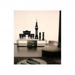 Beyazıt Kadife Duvar Sticker 103X106 Cm