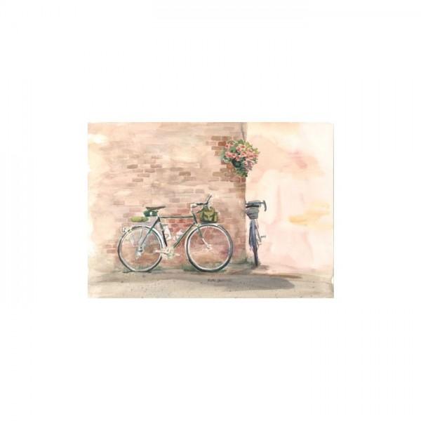 Bicycle Kanvas Tablo 50X70 Cm