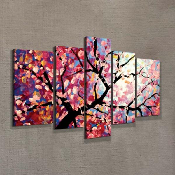 Blossom Tree 135x85 cm Kanvas Tablo