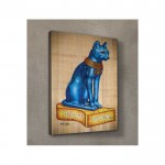 Blue Cat Kanvas Tablo 60X90 Cm