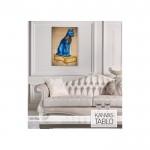 Blue Cat Kanvas Tablo 60X90 Cm