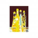 Bottles Kanvas Tablo 50X70 Cm