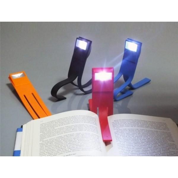 Bükülebilir Pratik Kitap Arası Okuma Lambası Gece Okuma Işığı
