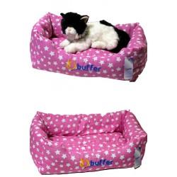 Buffer İçi Elyaflı Kedi Köpek Yatağı