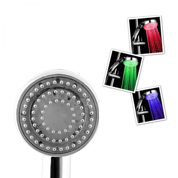 Buffer Isıya Duyarlı 3 Renk Değiştiren Duş Başlığı