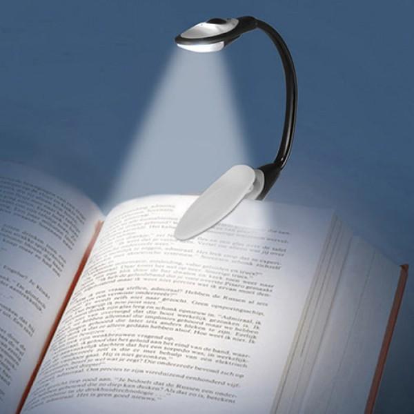 Buffer Kitap Okuma Lambası Kıskaçlı Işık Pilli Aydınlatma Kitap Okuma Işığı