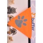 Kedi Köpek Fuları Gece Görüşlü Reflektör Kumaşlı Fosforlu Small