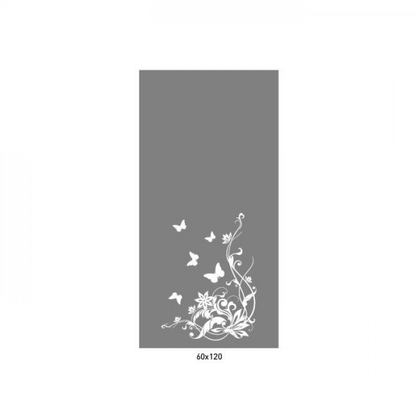 Butterfly Garden Frost Sticker 60X120 Cm