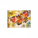 Butterfly Kanvas Tablo 50X70 Cm