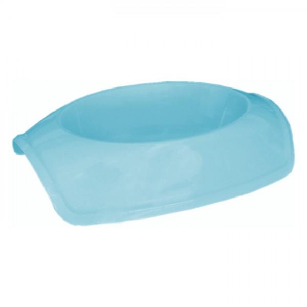 Cado Pet Plastik Kedi Köpek Mama Su Kabı 1 Lt Açık Mavi