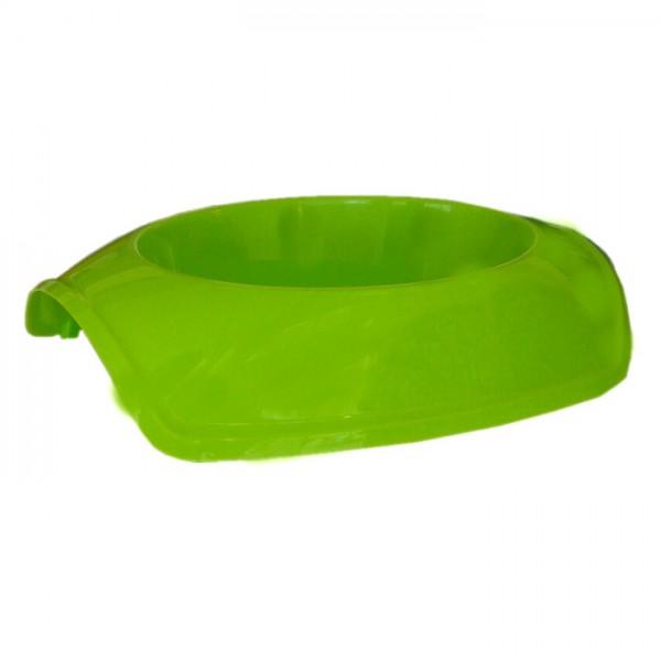 Cado Pet Plastik Kedi Köpek Mama Su Kabı 1 Lt Yeşil