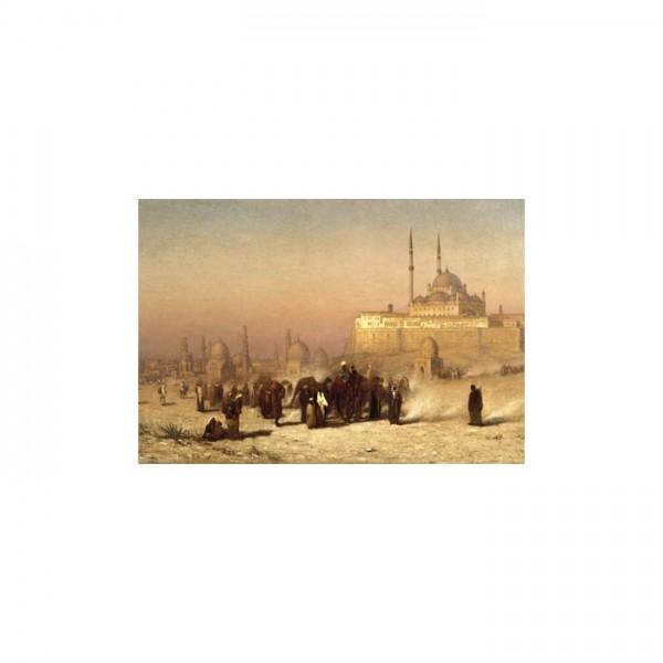 Cairo Mosque Kanvas Tablo 50X70 Cm