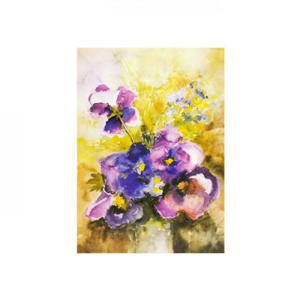 Calmness of the Flower Kanvas Tablo 50X70 Cm