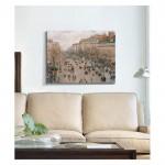 Camille Pissarro - Boulevard Monmartre in Paris 50x70 cm