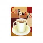 Cappucino Kanvas Tablo 50X70 Cm