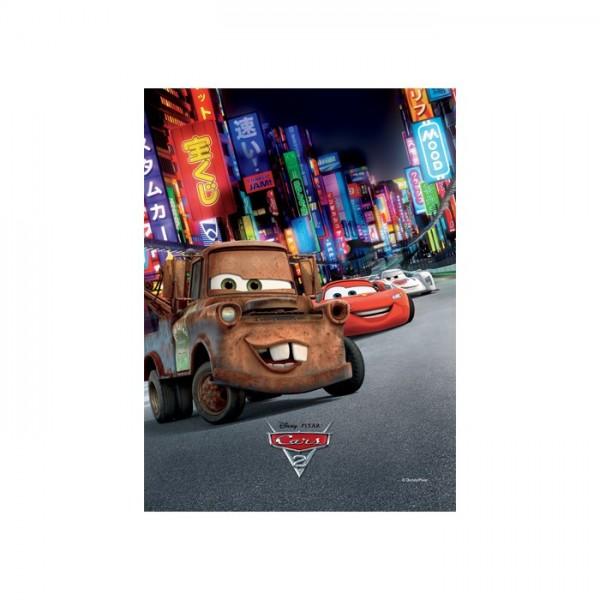 Cars-2 50x70 cm Kanvas Tablo