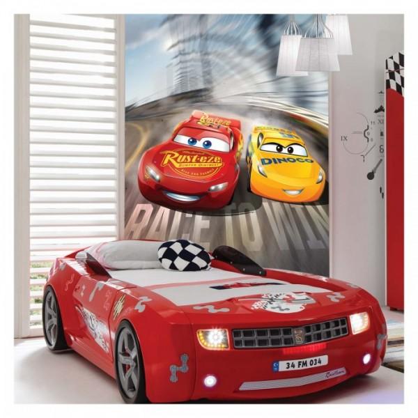 Cars 3 Duvar Resmi 89x140 cm