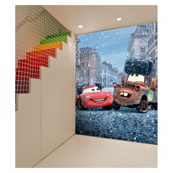 Cars 89x140 cm Duvar Resmi