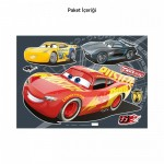 Cars Duvar Sticker 35x50 cm