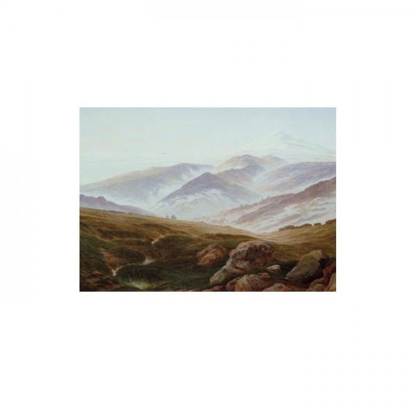 Caspar David Friedrich - Riesengebirge 50x70 cm