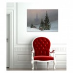 Caspar David Friedrich - Winter Landscape 50x70 cm