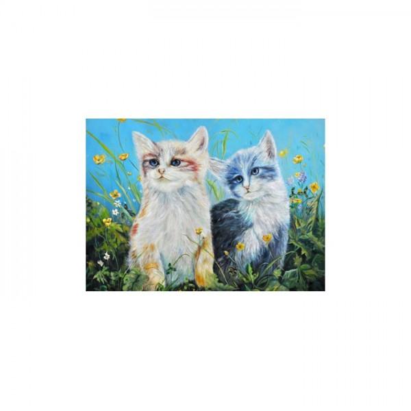 Cats Kanvas Tablo 50X70 Cm