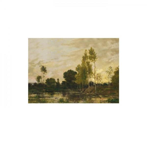 Charles-François Daubigny - Alders 50x70 cm
