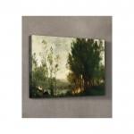 Charles-François Daubigny - Willows 50x70 cm