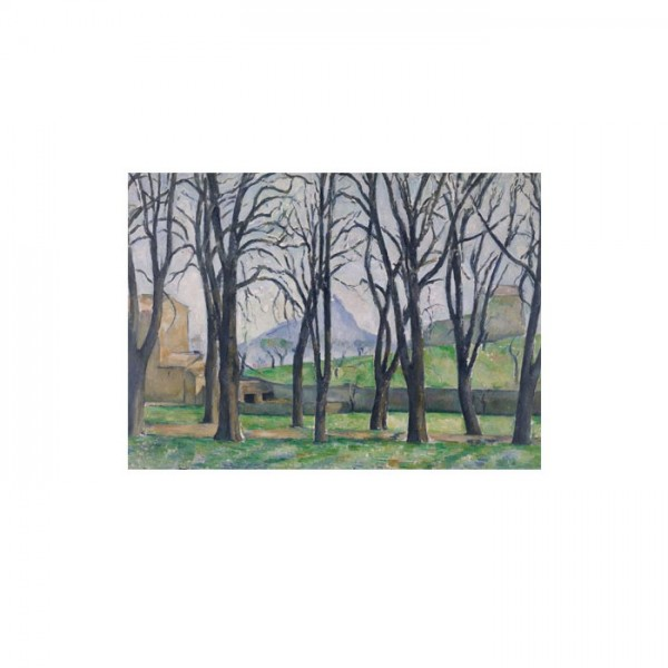 Chestnut Trees at the Jas de Bouffan 50x70 cm