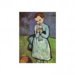 Child With Dove 50x70 cm