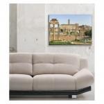 Christoffer Wilhelm Eckersberg - View of the Forum in Rome 50x70 cm