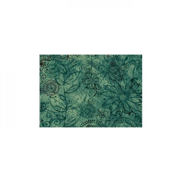 Çiçek Desenleri-2 Notebook Sticker