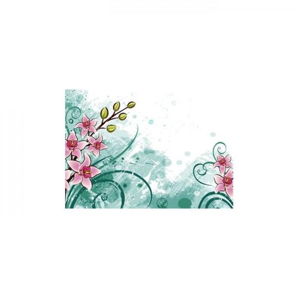 Çiçek Desenleri-3 Notebook Sticker