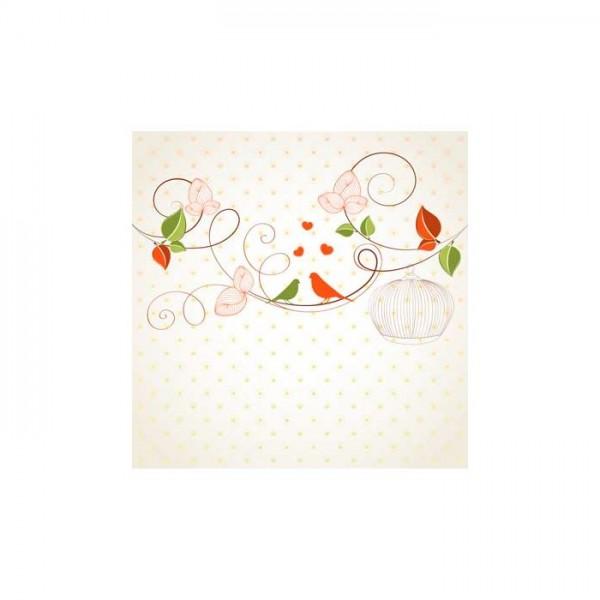 Çiçek Motifleri-1 Bulaşık Makinesi Sticker