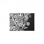 Çiçek Motifleri-1 Notebook Sticker