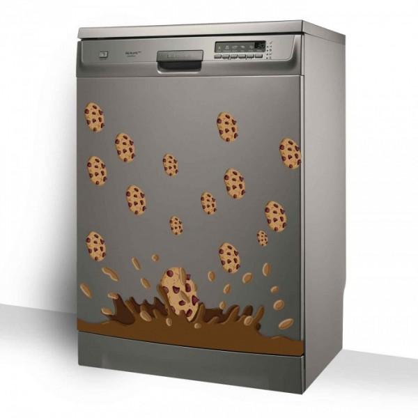 Çikolata Bulaşık Makinesi Sticker